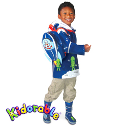 Kidorable pláštěnka Space Hero S (80-86 cm)